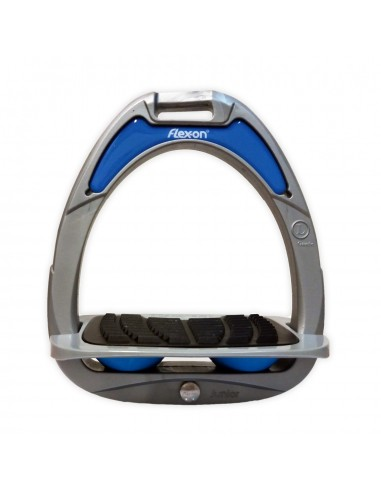 ESTRIBOS FLEX-ON COMPOSITE JUNIOR INCL GRIP ALUM/AZUL