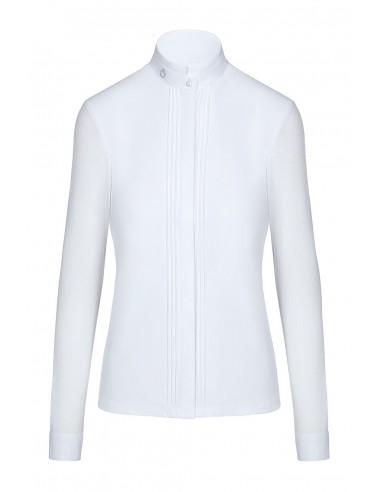 Cavalleria Toscana Transparent Elegant Competition L/S Shirt