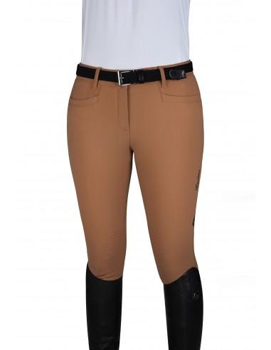 Pantalón de Equitación Equiline Knee Grip