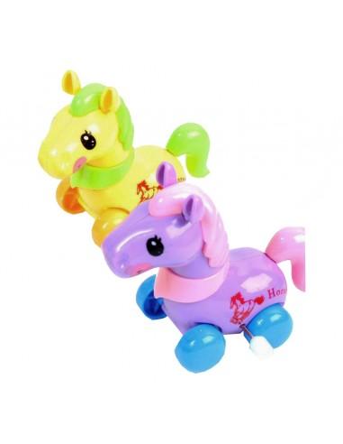 Juguete Pony de Cuerda
