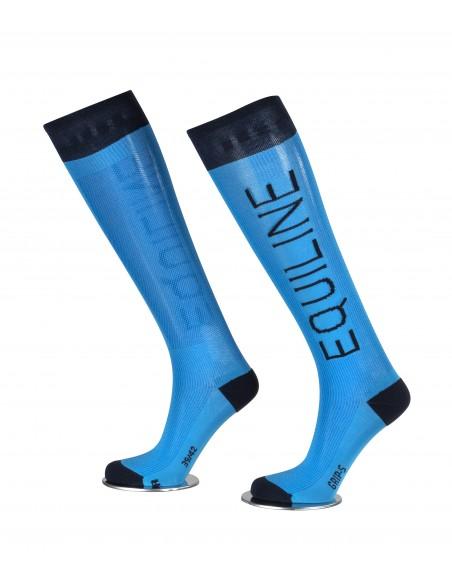 Calcetines de Equitación Equiline Color Unisex