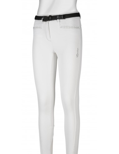 Pantalon de Concurso Junior Equiline Silver Tack