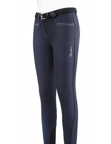 Pantalon de Equitación Equiline Silver Tack Junior