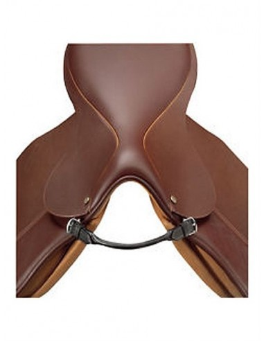 HANDLE FOR SADDLES OF TUBULAR LEATHER...