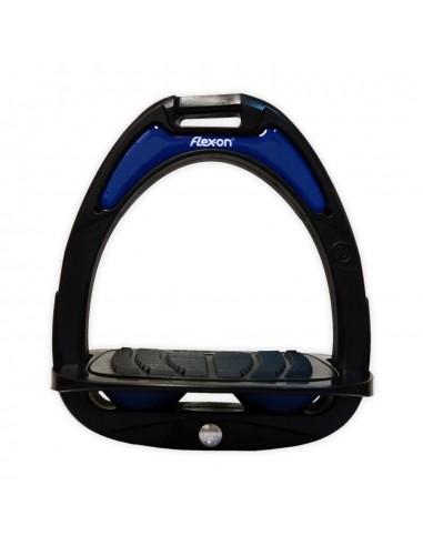 Flex-On Composite Ultra Grip Black Junior Stirrups