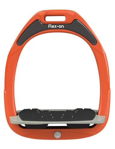 Estribos Flex-On Composite Ultra Grip Orange