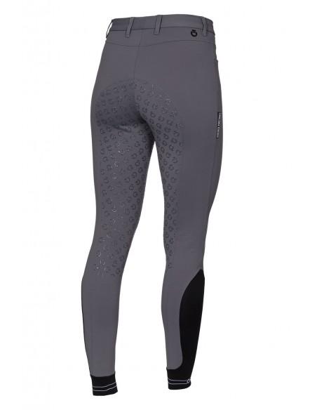 Pantalón de Concurso Cavalleria Toscana Perforated Logo Tape Full Grip
