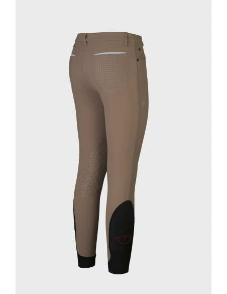 CAVALLERIA TOSCANA PERFORATED FLAP COMPETITION BREECHES