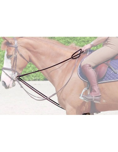 Dyon Leather Draw Reins