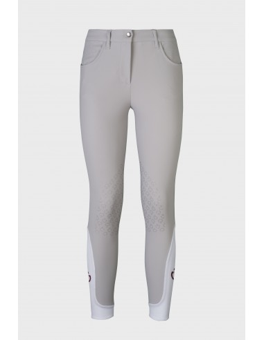 CAVALLERIA TOSCANA MICRO PERFORATED HORSE RIDING BREECHES