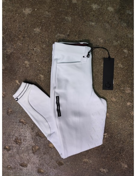 Cavalleria Toscana Perforated Logo Tape Junior Competition Breeches