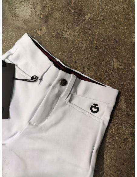Pantalón de Concurso Cavalleria Toscana Perforated Logo Tape FGrip Niños