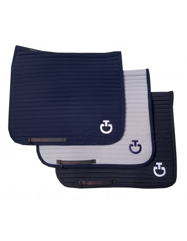 Cavalleria Toscana Quilted Row Jersey Dressage Saddle Pad