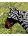 Máscara Antimoscas Zebra con Orejeras