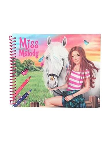 Cuaderno para colorear Miss Melody