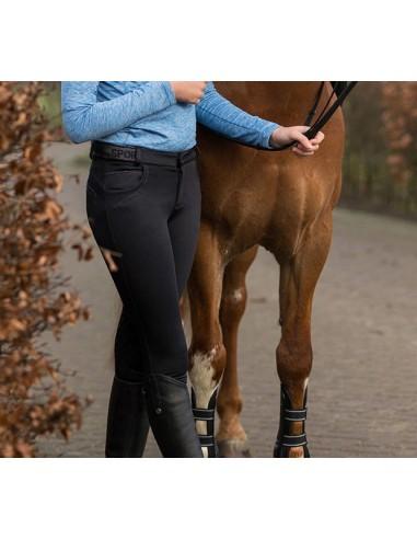 Pantalon de equitacion softshell Alexa Junior