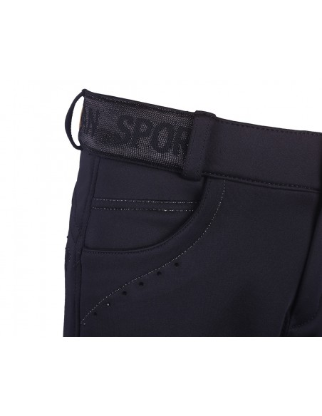 Pantalon de equitacion softshell Alexa Junior