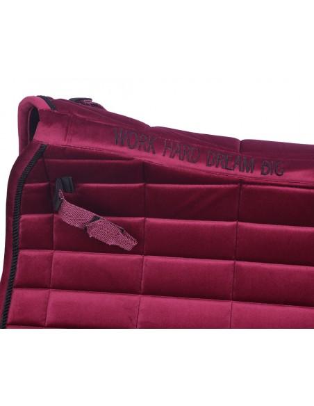 Jumping saddle pad Astana Velvet