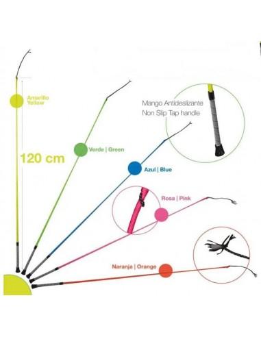 Neon Dressage Whip 120 cm