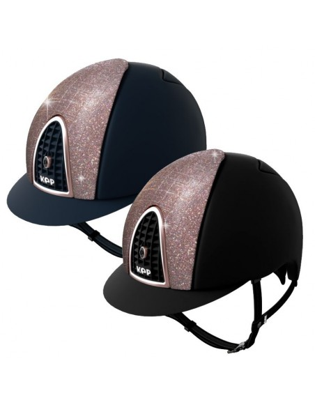 KEP Cromo Textile Galaxia Rose Riding Helmet