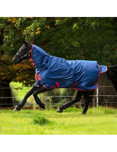 Manta de exterior Horseware Mio All-In-One 350g con Cubrecuello