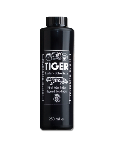 Black Dye For Leathers Tiger 250mL