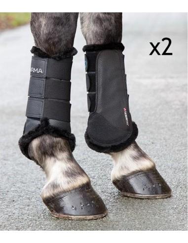 Set of Arma Cross Sheepskin Boots L/XL