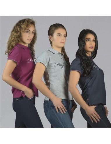 F&C Merida Ladies Riding Polo Shirt