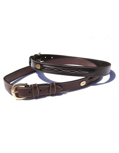 Dyon Fancy Equestrian Leather Belt