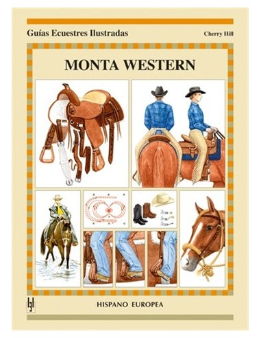Monta Western - Guías Ecuestres Ilustradas