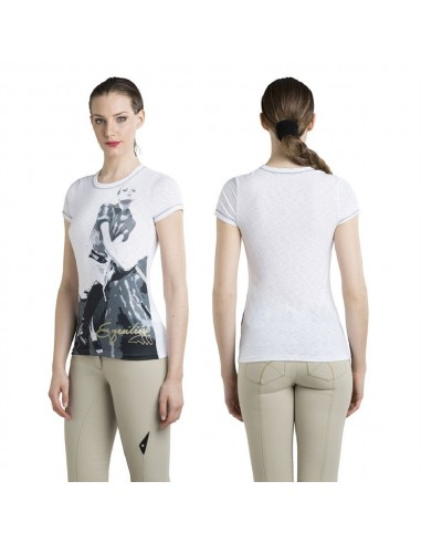 EQUILINE RONDA HORSE RIDING T-SHIRT