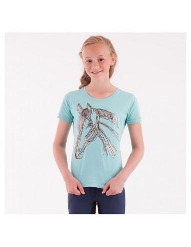 Camiseta para Niña con Caballo Anky