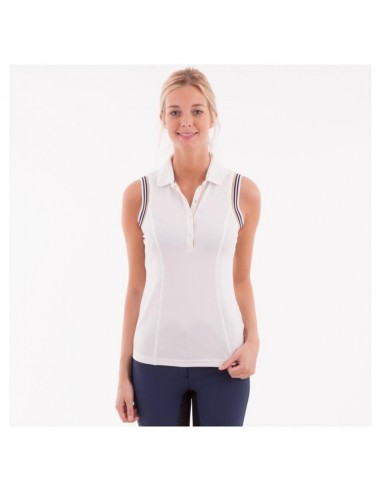 ANKY ESSENTIAL SLEEVELESS HORSE POLO SHIRT
