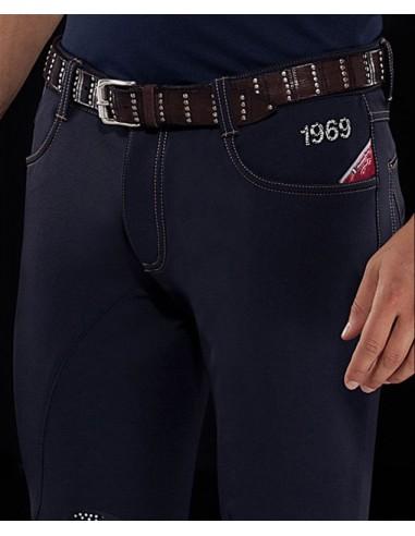 Pantalón de Equitación Animo Mayer KGrip Hombre