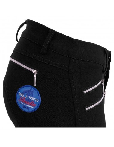 PARROT SILICON KNEE PATCH HORSE RIDING BREECHES
