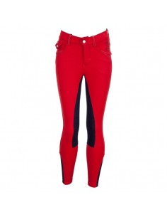 PANTALON DE EQUITACION SANCHEZ RED JUNIOR AW16