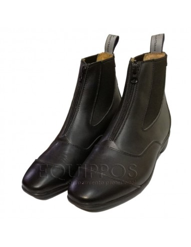 JODHPUR BOOTS WITH ZIPPER