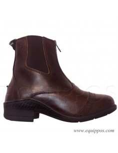 BOTINES PARA MONTAR CREMALLERA WORK ALL DAY MARRON