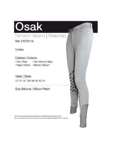 GRIP SILICONA OSAK HORSE RIDING BREECHES