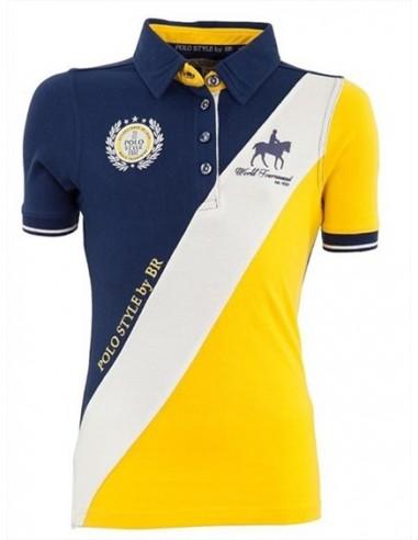 BR CATORCE JUNIOR RIDING POLO SHIRT