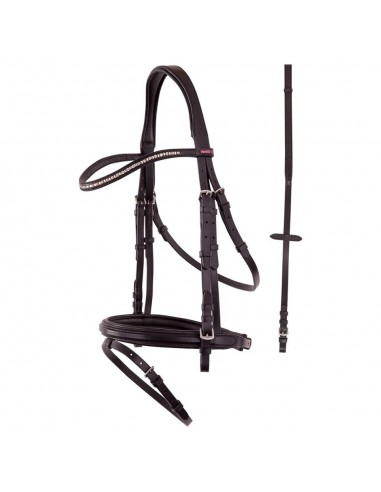 SNAFFLE BRIDLE MONTPELLIER (WITH REINS)