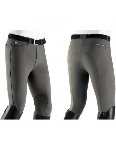 Pantalón de Equitación Equiline Willow KGrip Hombre