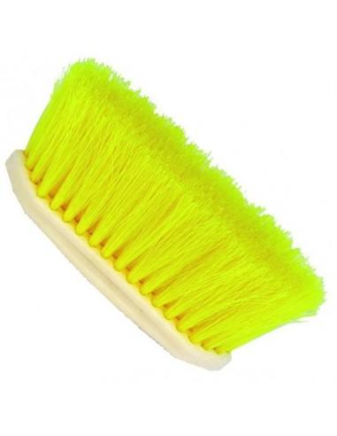 Cepillo de Cerdas Largas y Mango de PVC