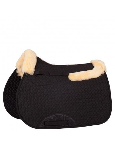 JUMPING SADDLE PAD WITH SHEEPSKIN