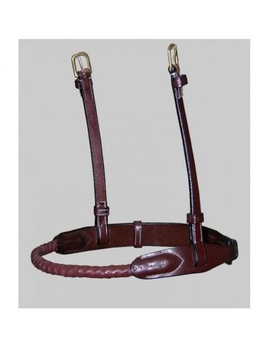 Muserola de Cuerda con Cuero Dyon