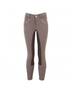 PANTALON DE EQUITACION ORANGE FULL SEAT AW16