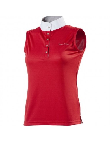 MESH SLEEVELESS COMPETITION POLO SHIRT