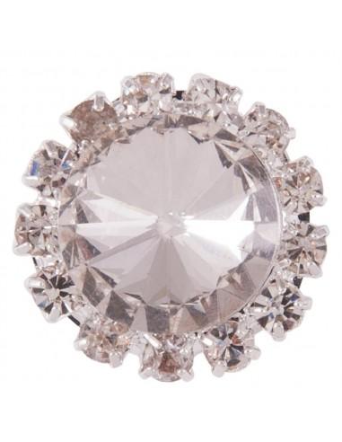 Broche Plastrón Crystal