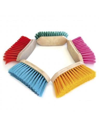 Cepillo Suave de Cerda Larga PVC