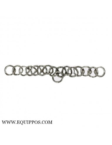 CHAIN FOR WEYMOUTH BITS EXTRA WIDE STAINLESS STEEL